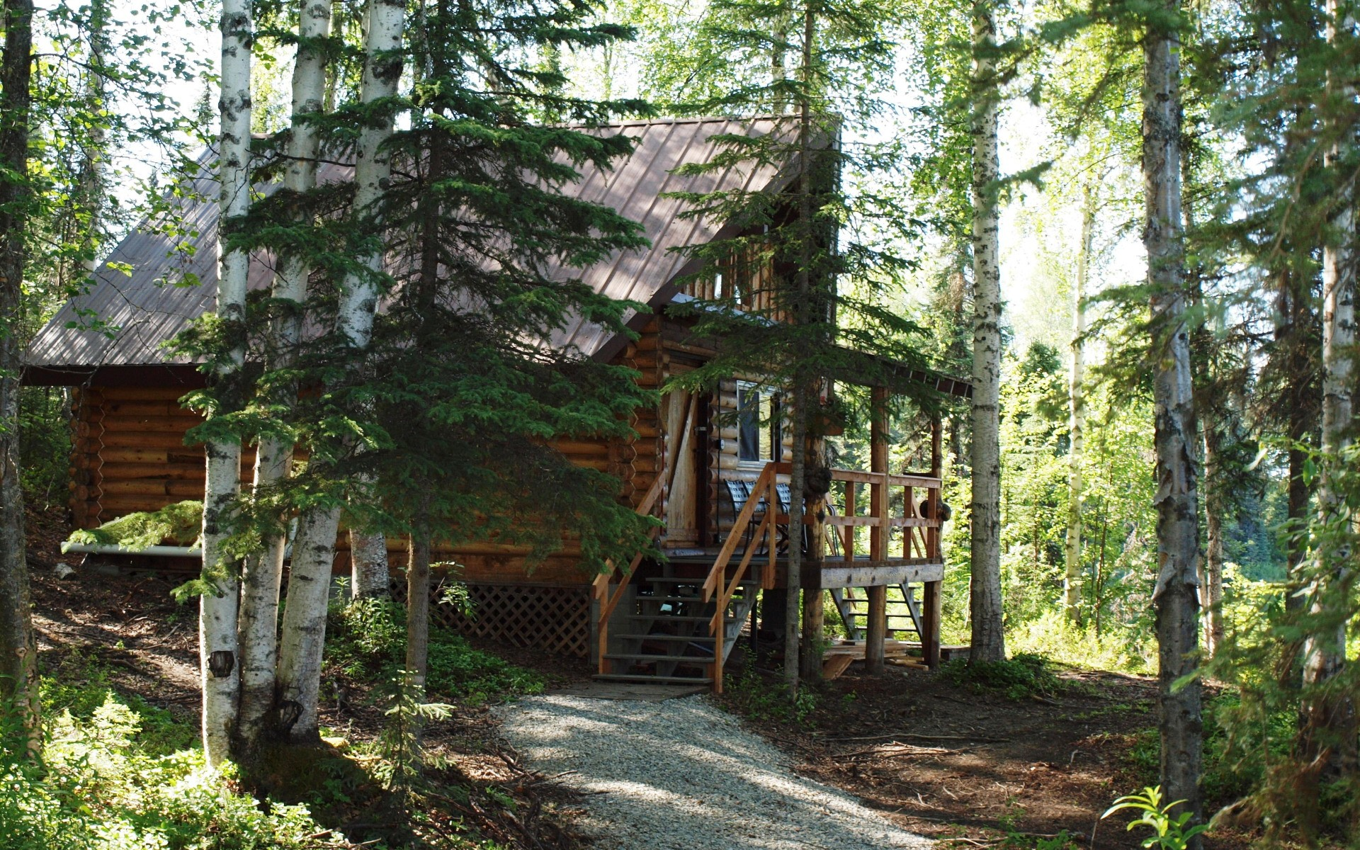 Beaver Point cabin